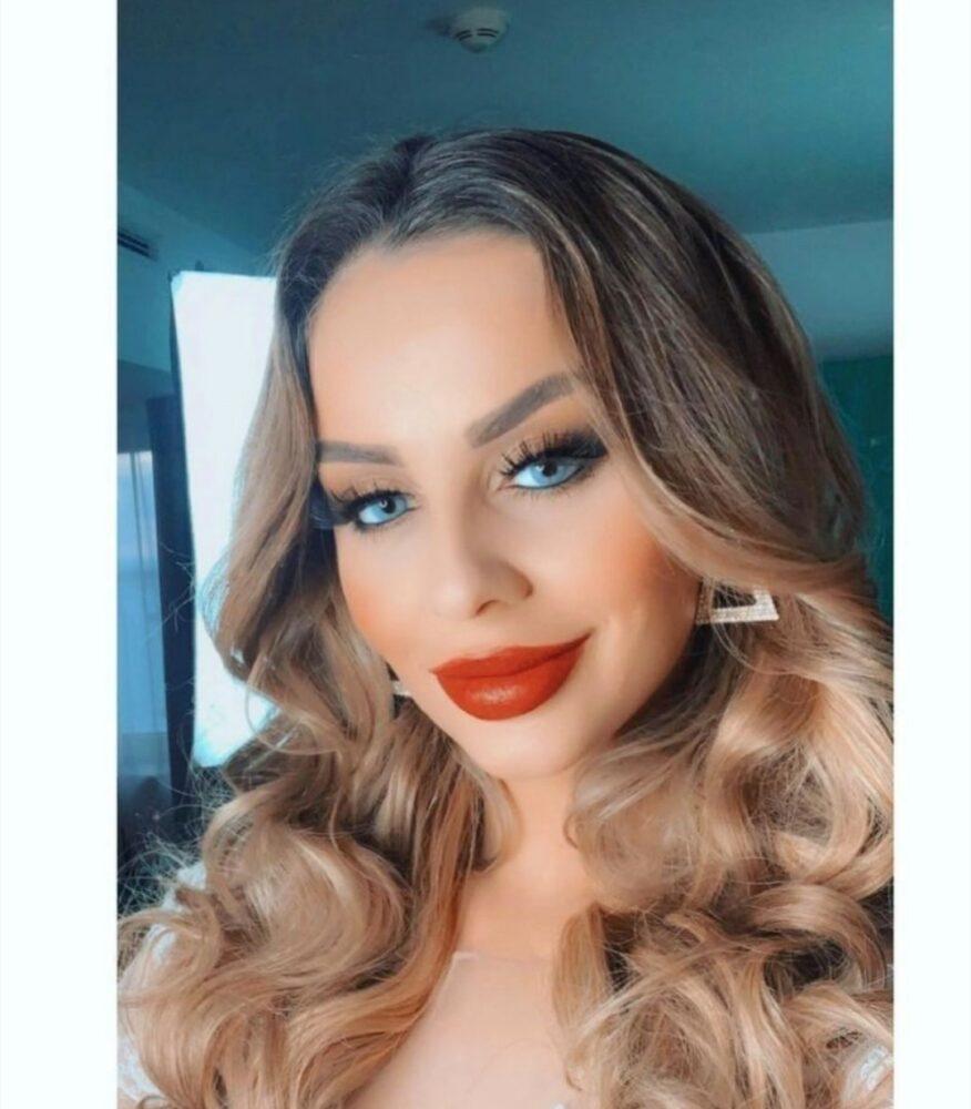 """Shqiptarja Arlinda Prenaj fiton """"Miss Grand Germany 2020 ..."""